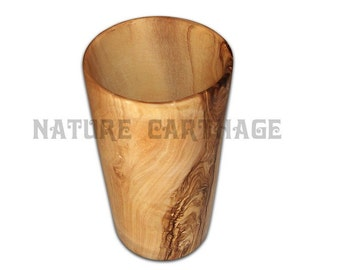 Olive Wood Juice Cup