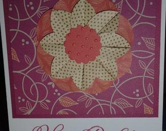 Handmade Birthday card Close to My Heart