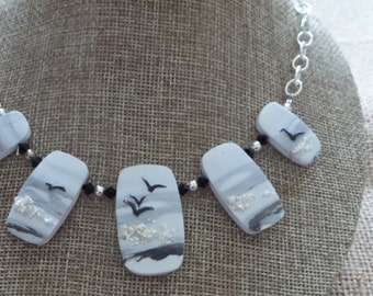 Stunning Polymer Clay Necklace
