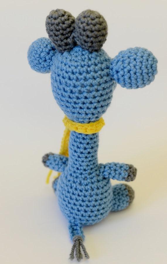Amigurumi Stuffed Animals Patterns : Crochet Giraffe Pattern - Crochet Giraffe - Giraffe ...