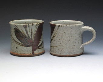 Sheila Casson Espresso Mugs, Master Potter Sheila Casson Hand Thrown Studio Pottery