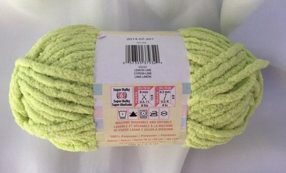 Lemon Lime 03223 Bernat Baby Blanket Yarn 3 5 Oz Bernat