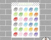 Book Mini Icon Planner Stickers
