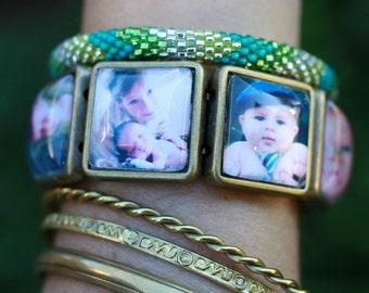 Sweet~Face Photo Bracelets**Unique**Gift**