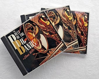 Vintage CD Big Bands 3 Disc Set / Vintage CD Instrumental / Big Band Music / Big Band Swing Music / Instrumental Music CD