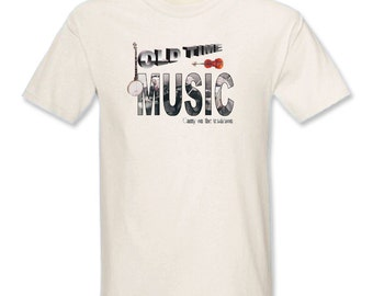 Old Time Music - Carry on the Tradition T-Shirt