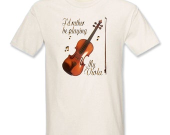 I'd Rather Be Playing My Viola T-Shirt