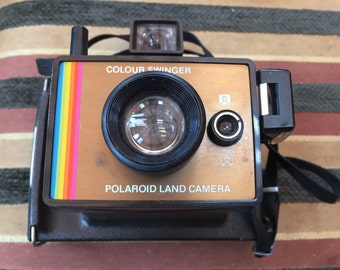 Poloroid colour swinger camera