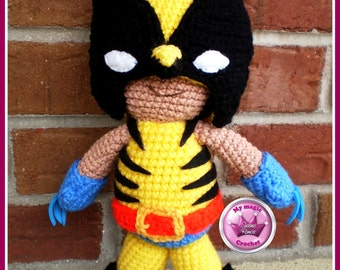 Wolverine crochet amigurumi doll ==On Sale== Was USD 50 now USD 40