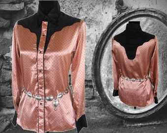 Unbranded Vintage Western Women's Shirt, Size 12 / 34