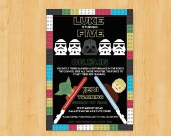 lego star wars print | etsy, Einladung