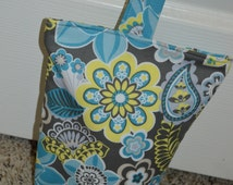Fabric Doorstop-Fabric Doorstoper-Doorstopper-Fabric Door Stop-Doorstop-Handmade Door Stopper-Housewarming Gift-Teacher Gift-Nursery Decor