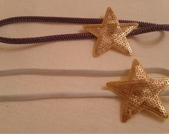 sequin star headban