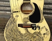 Hipster Guitar by Austin Lysaght