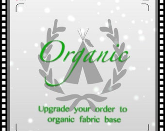 Upgrade to organic teepee with organic cotton base for any medium/large size teepee