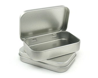 Metal Tin case (4 pcs in 1 set)