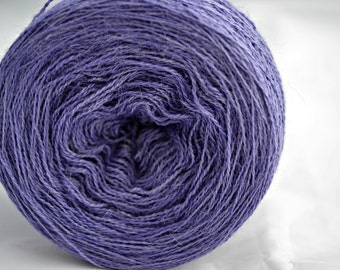 Hand Dyed Yarn - 70/30 Royal Alpaca and Silk - 100 Grams - 1200 Metres - Laceweight - Ye Shall Never Have A More Loving Prince (Elizabeth 1)