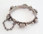 Antique Moroccan mauritanian silver bracelet