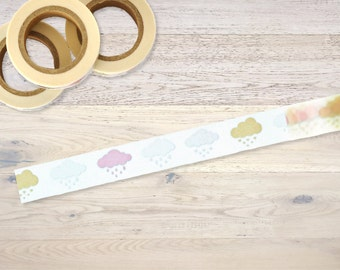 Masking Tape with little clouds Washi Tape