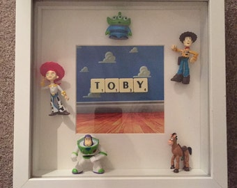Toy Story personalised frame perfect for any boy/girls room great xmas gift