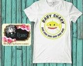 Baby Shark, Toddler Shirt, Baby Shirt, Baby Bear, Shark Family, Baby Shark Doo Doo, Family shirt, Baby T Shirt, Toddler T Shirt