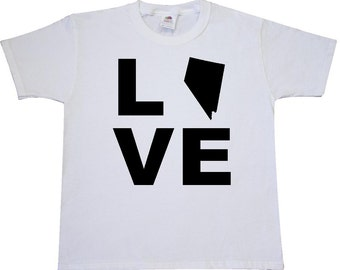 Love Nevada Youth T-Shirt by Inktastic