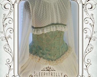 Charlotte Rococo - Rococo inspired corset cincher L (ready to ship)