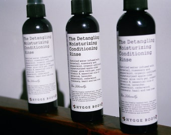 The Detangling Mositurizing Conditioning Rinse ~ Natural Leave-In Conditioner ~ Natural Herbal Hair Care