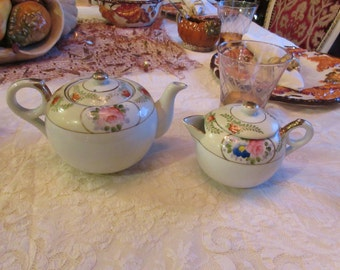 JAPAN TEAPOT with CREAMER
