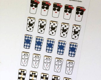Travel Mugs Stickers