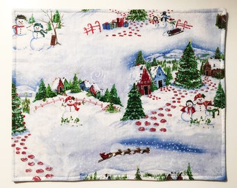 Christmas Themed Placemats (set of 4)