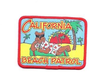 Vintage California Beach Patrol Patch