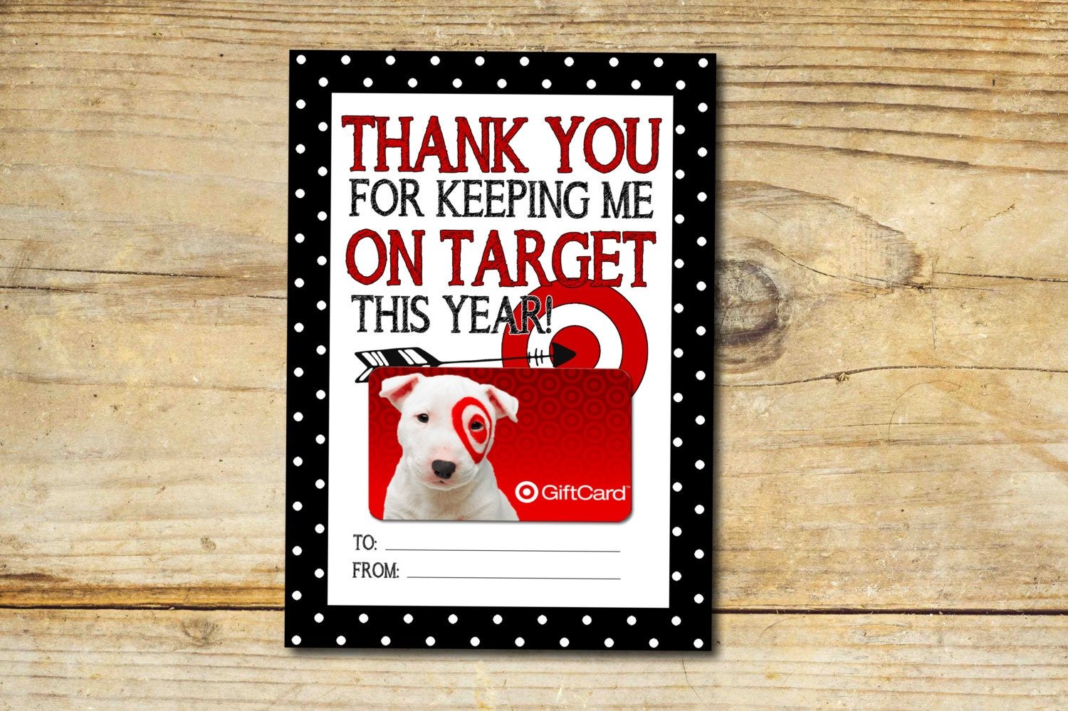 Shopkins coloring book target - Keeping Me On Target Thank You Gift Card Holder Printable Instant Download Teacher Appreciation End Of School Gift