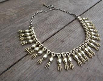 Vintage Chocker Necklace/ Adjustable
