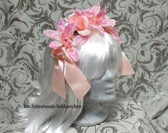 Flower headband, headdress, Lolita