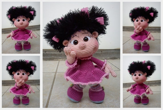 Tutorial Elfi Amigurumi : Basic Elf Doll amigurumi PATTERN by sandy27crochet on Etsy