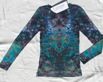 Size Large Women's Long Sleeve in Greys and Blues #WS-327