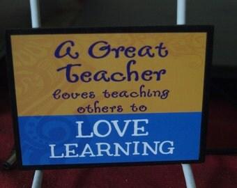 Teacher agnet