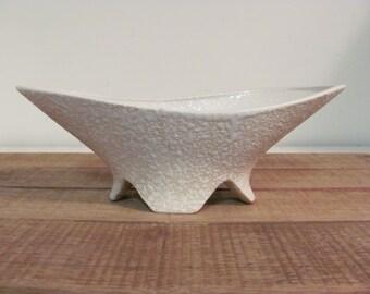 Pink Pebble Surface Mid Mod Ceramic Vase