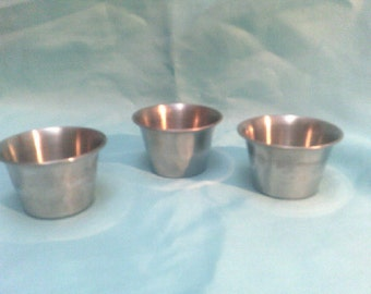 Prep Bowls / Moulds Stainless Steel