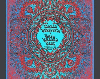 Marco Benevento Official Hand-Printed Gigposter