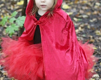 Red tutu. Solid red skirt. Girl's Valentine outfit. Baby girl's first Christmas outfit. Little Red Riding Hood costume.