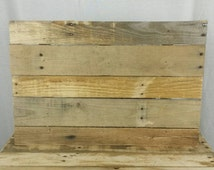 Blank pallet signs. 16 x 20. Sanded smooth ready to paint. Combined shipping on multiple purchased