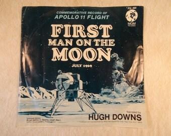First Man on the Moon Apollo 11 Commemorative Record 1969