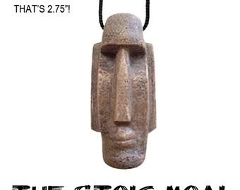 The Stoic Moai necklace