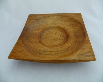 Unique Handcrafted Butternut Dish  # 319
