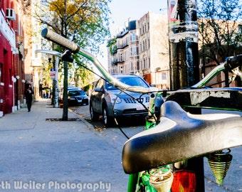 Chicago Photography Art Print, Pilsen Bike
