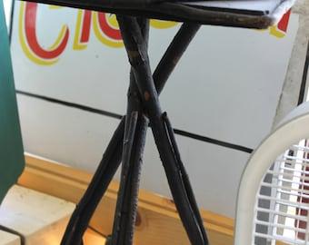 Vintage Black Twig Table