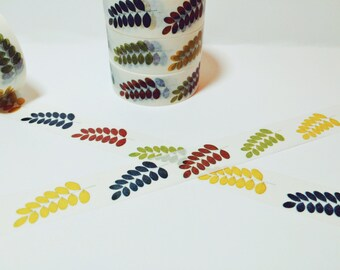 Fall Leaves and Branches, Washi Tape