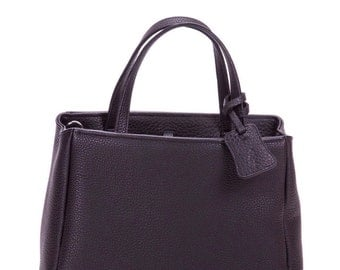 Leather tote, leather handbag, leather tote bag,  black handbag, leather bag, black handbag